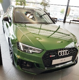 Audi RS4 KFZ Versicherung